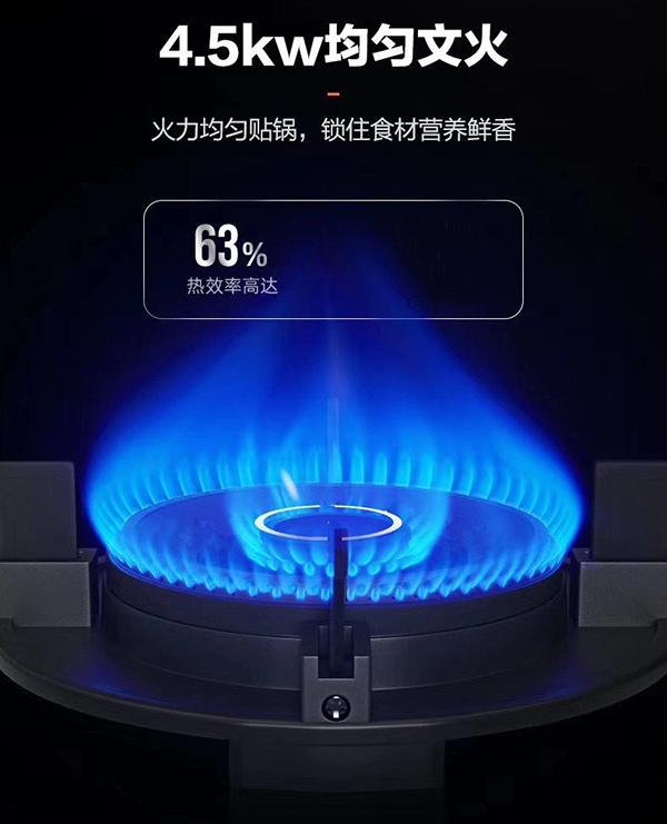 燃气灶火焰